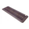 达善堂 加热玉石坐垫沙发垫托玛琳锗石托办公室椅垫 褐色 0.5*1.5m